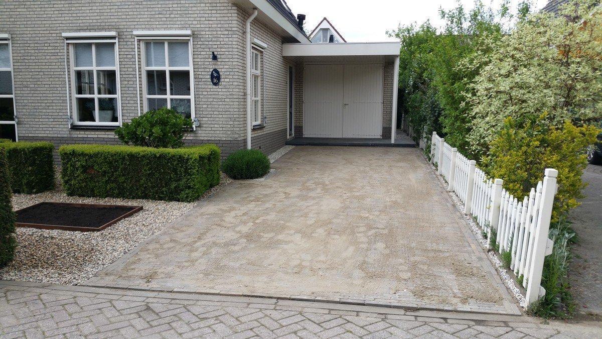 Voortuin kiviet hardinxveld den dunnen hoveniers hardinxveld - Voorbeeld van tuin ...